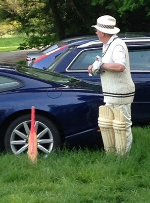 John Deeley Cricketer at Middleton Stoney Cricket Club